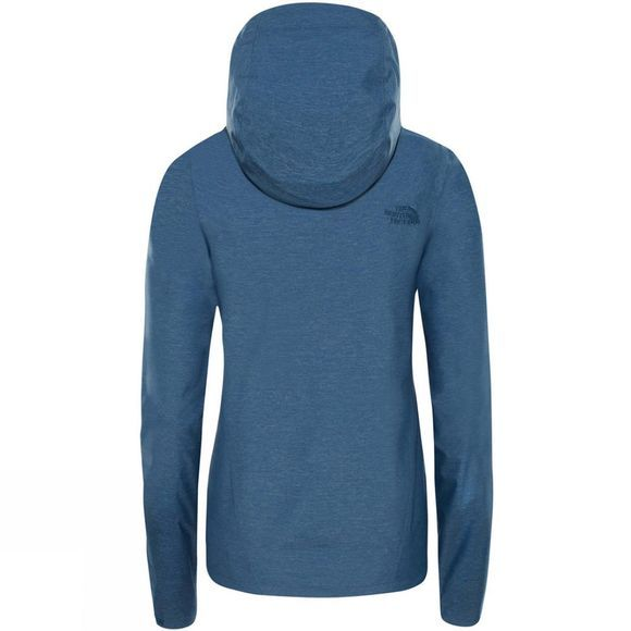 The North Face Womens Venture 2 Jacket Blue Wing Teal Heather