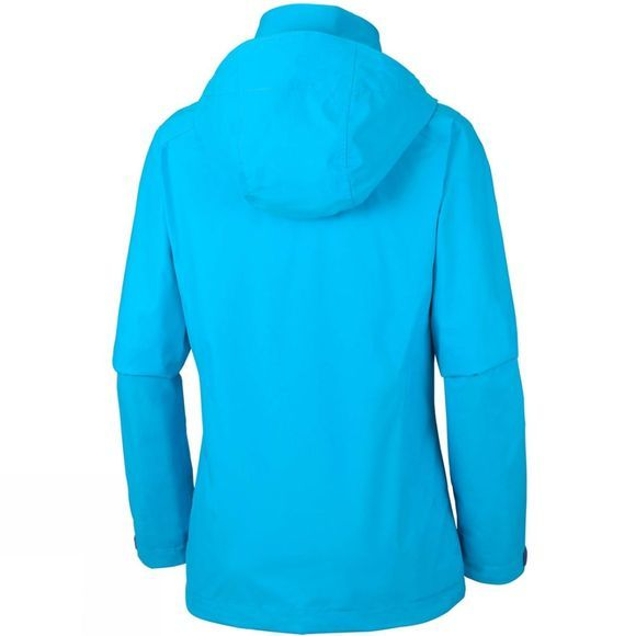 Columbia Womens Trestle Trail Hooded Jacket Atoll