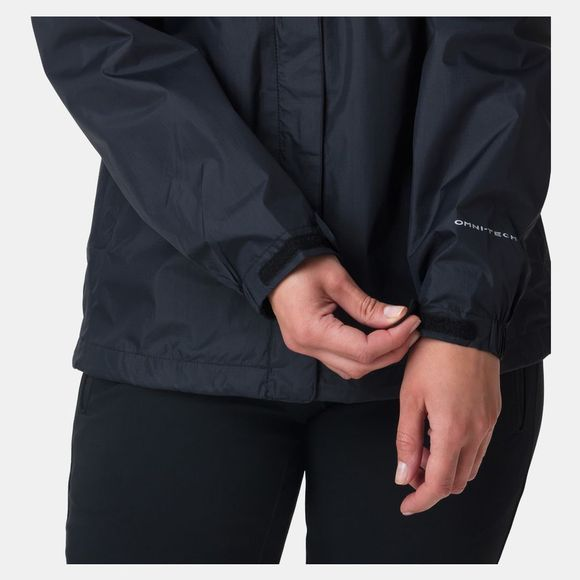 Columbia Womens Pouring Adventure Jacket Black