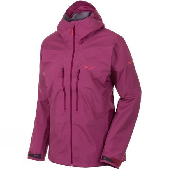 Salewa Womens Pedroc GTX Active Jacket Red Onion