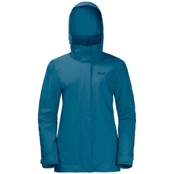 Jack Wolfskin Womens Highland Jacket Celestial Blue