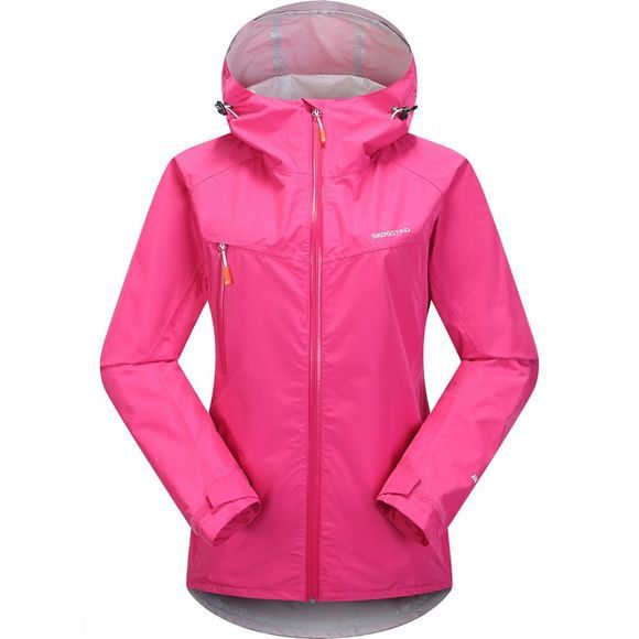 Skogstad Womens Hadsel Shell Jacket Sharp Pink