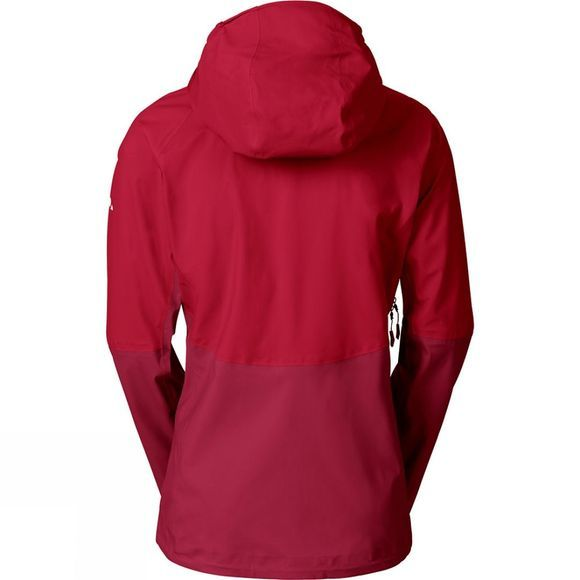 Vaude Womens Croz 3L Jacket II Dark Indian Red