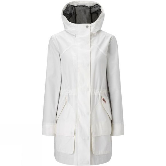 Hunter Womens Original Cotton Hunting Coat White
