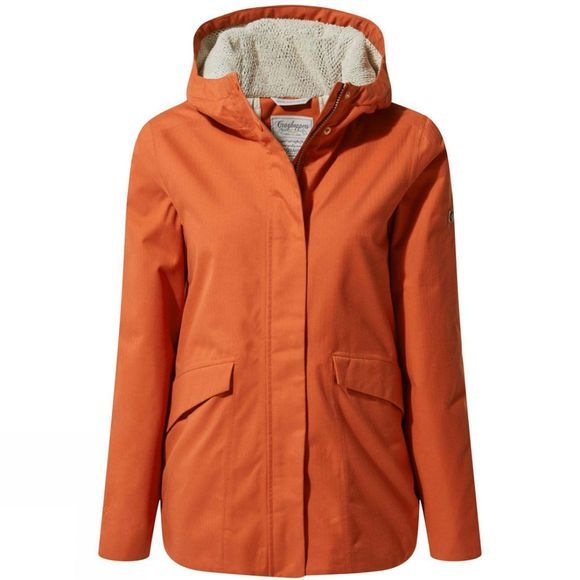 Craghoppers Womens Lindi Jacket Warm Ginger