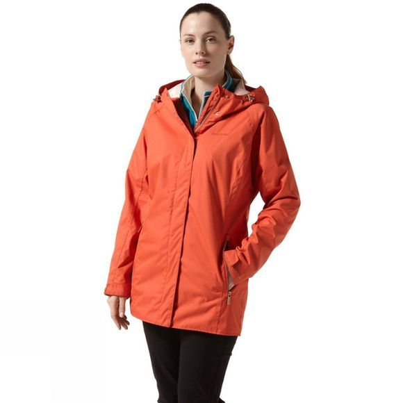 Craghoppers Womens Madigan Classic II Jacket Warm Ginger