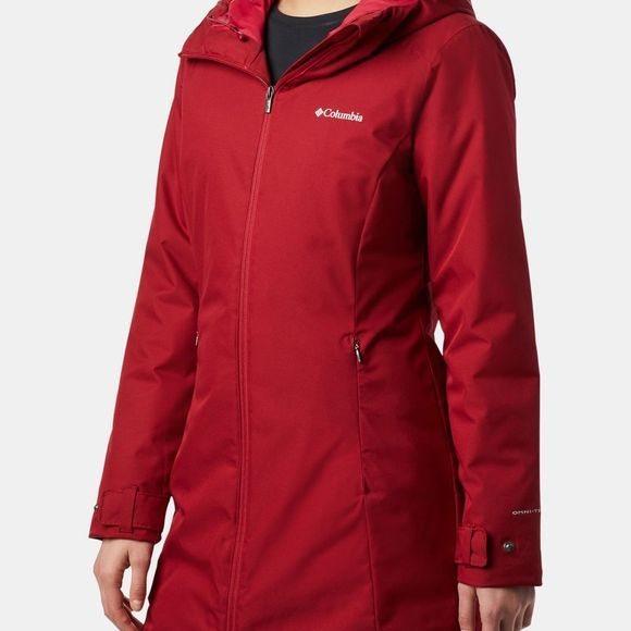 Columbia Womens Autumn Rise Mid Jacket Beet
