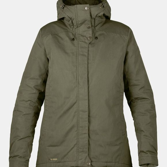 Fjallraven Skogsö Padded Jacket W Laurel Green