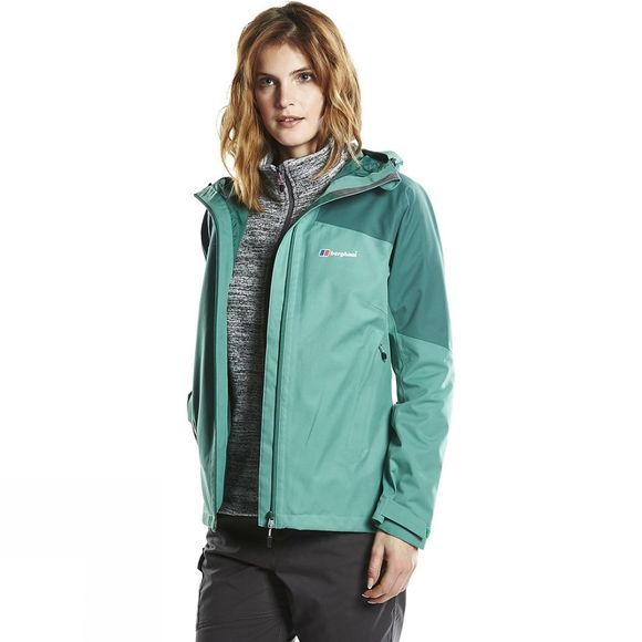 Berghaus Womens Fellmaster Jacket Bottle Green/Posy Green
