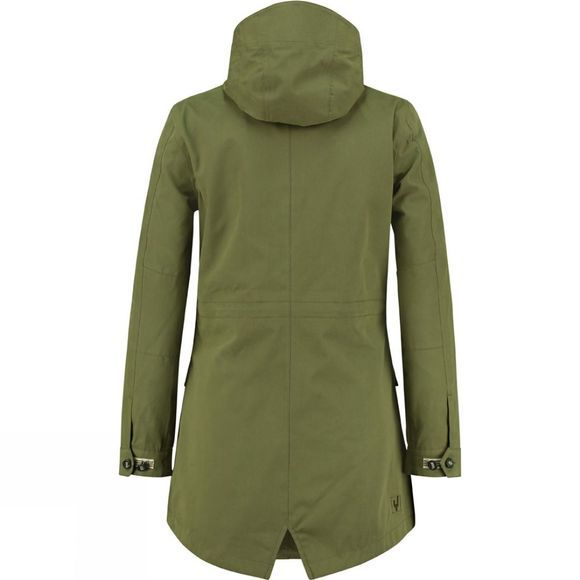 Ayacucho Thames Parka Light Pesto