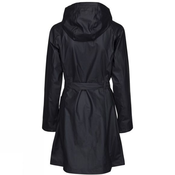 Ilse Jacobsen Womens Rain70 Raincoat Dark Indigo