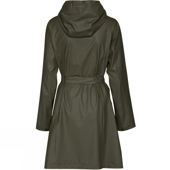 Ilse Jacobsen Womens Rain70 Raincoat Army