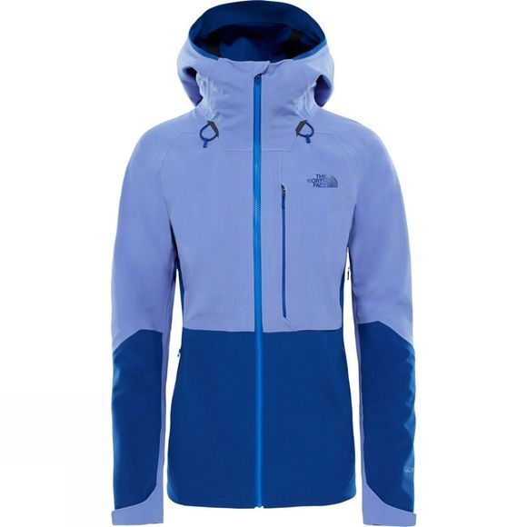 The North Face Womens Apex Flex Gore-Tex 2.0 Jacket Stellar Blue/Soadlite Blue