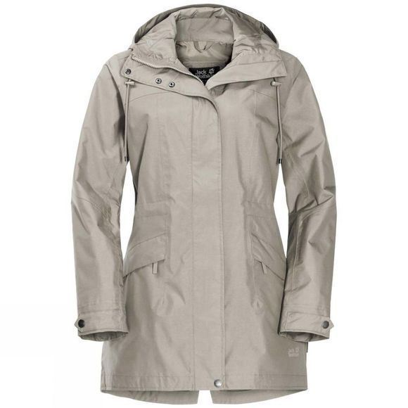 Jack Wolfskin Womens Cameia Parka Dusty Grey