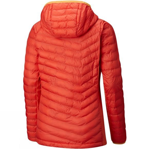 Columbia Womens Powder Pass Hooded Jacket Zing