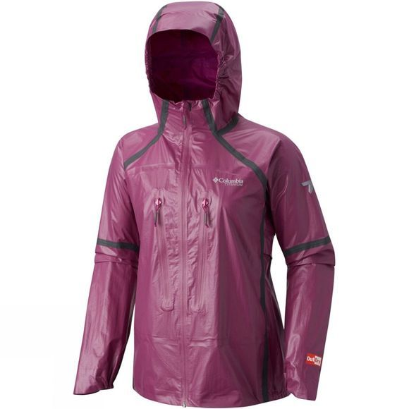 Columbia Womens OutDry Ex Featherweight Shell Jacket Intense Violet