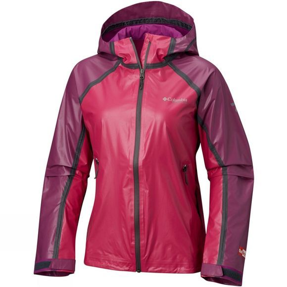 Columbia Womens OutDry Ex Gold Tech Shell Jacket Groovy Pink/Intense Violet