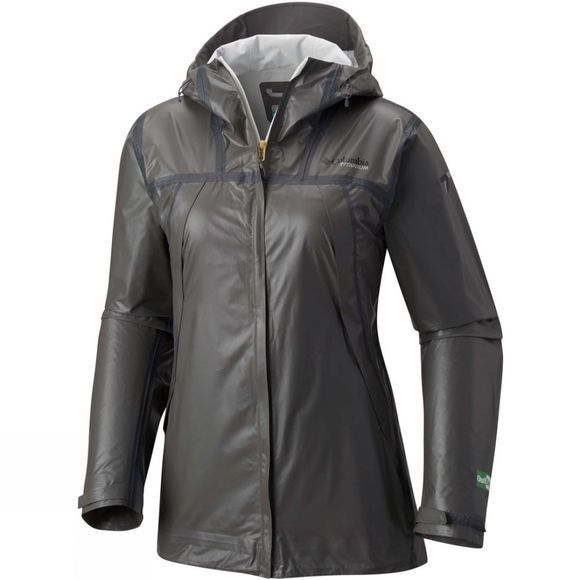 Columbia Womens OutDry Ex Eco Tech Shell Jacket Bamboo Charcoal