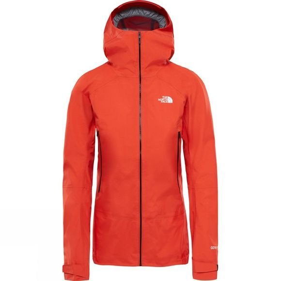 Details about THE NORTH FACE SHINPURU II GORE TEX ACTIVE light WOMEN'S FIRE RED JACKET M