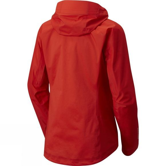 Mountain Hardwear Mens Quasar Lite II Jacket Fiery Red