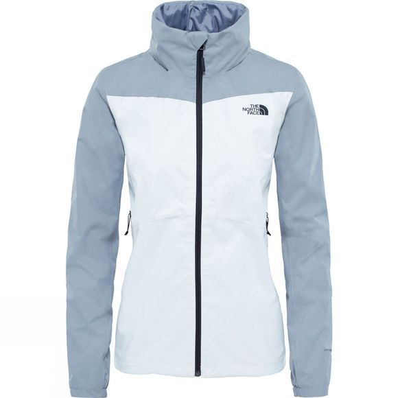 The North Face Resolve Plus Jacket TNF White/Mid Grey Dobby