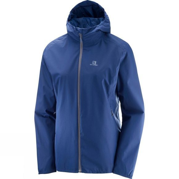 Salomon Womens Essential Jacket Medieval Blue