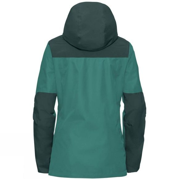 Vaude Womens Escape Pro II Jacket Nickel Green