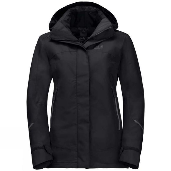 Jack Wolfskin Womens Onyx Jacket Black
