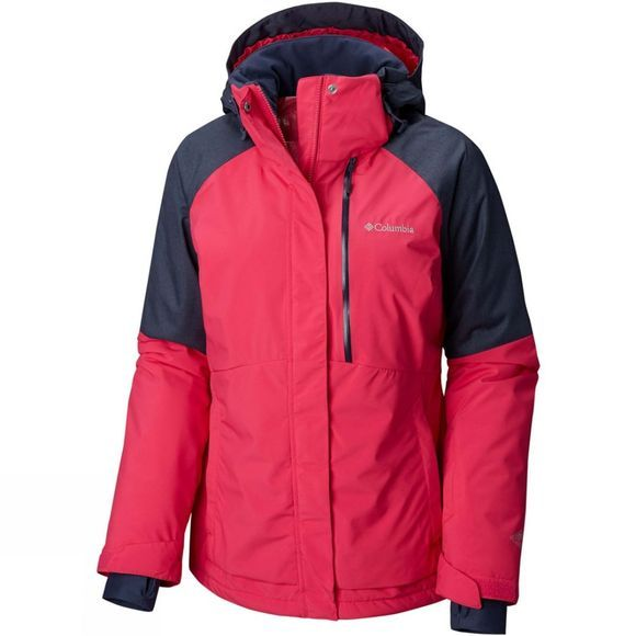 Columbia Womens Wildside Jacket Cactus Pink/ Nocturnal Heather
