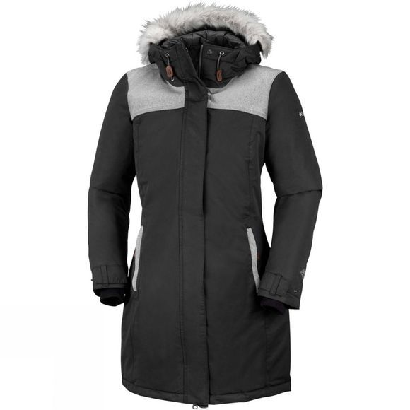 Columbia Womens Lindores Jacket Black/ Shark