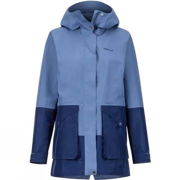 Marmot Womens Wend Waterproof Jacket Storm/Arctic Navy