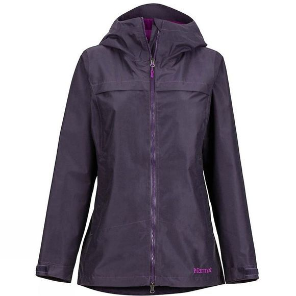 Marmot Womens Tamarack Hooded Jacket Purple