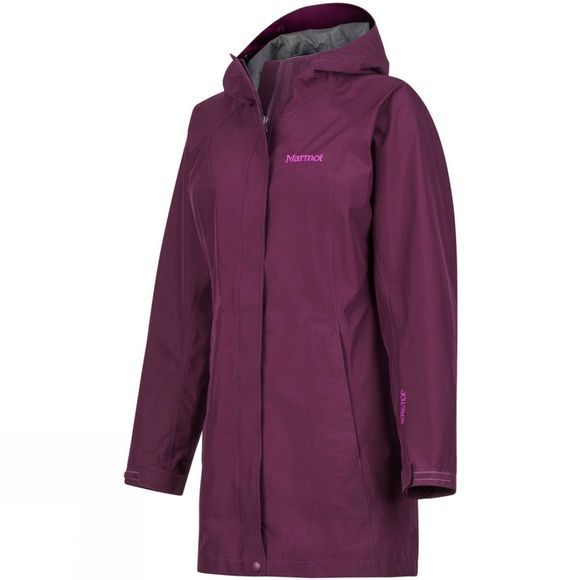 Marmot Womens Essential Jacket Dark Purple