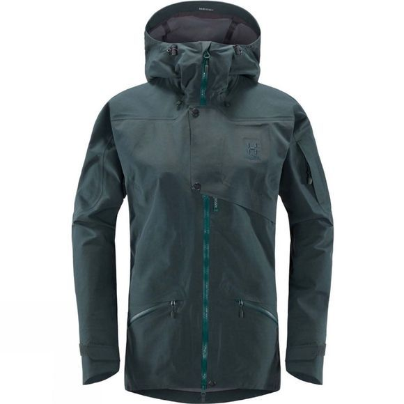 Haglofs Womens Khione 3L Proof Jacket Mineral