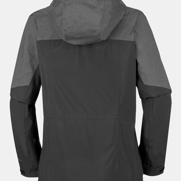 Columbia Womens Evolution Valley II Jacket Black, Charcoal