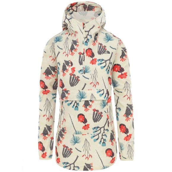 The North Face Womens Printed Fanorak Jacket Vintage White Joshua Tree Print