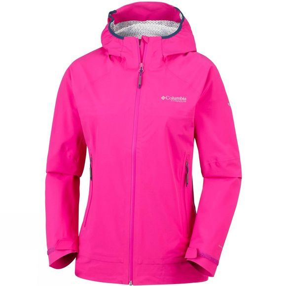 Columbia Womens Trail Magic  Shell Haute Pink