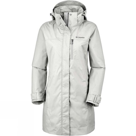 Columbia Womens Hideaway Creek Jacket Flint Grey