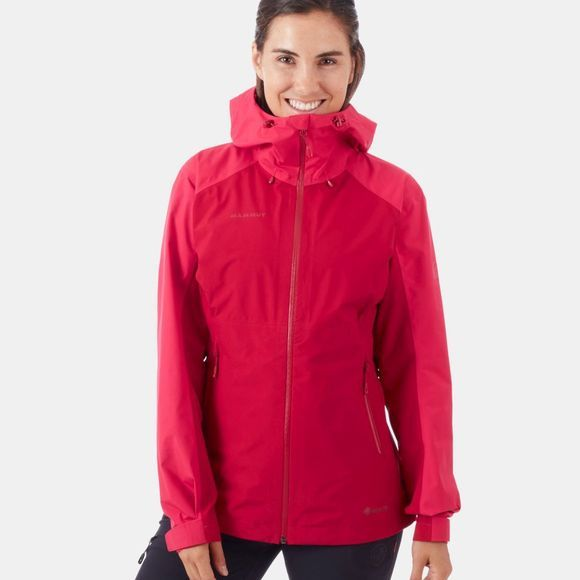 Mammut Womens Convey Tour HS Hooded Jacket Scooter-Dragon Fruit