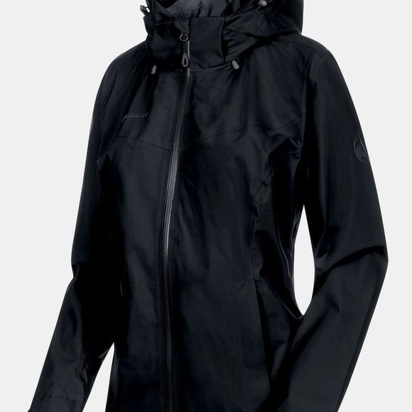 Mammut Womens Ayako Tour HS Hooded Jacket Black