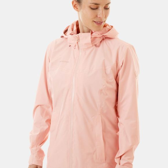 Mammut Womens Ayako Tour HS Hooded Jacket Candy