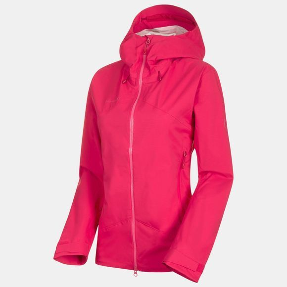 Mammut Womens Kento HS Hooded Jacket Dragon Fruit