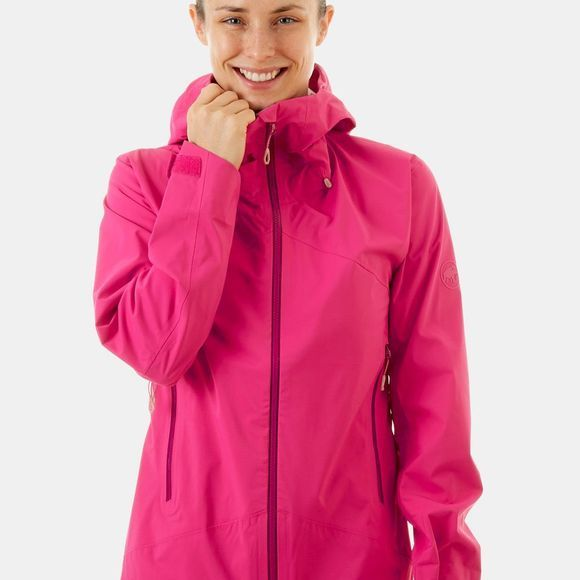 Mammut Womens Kento HS Hooded Jacket Pink