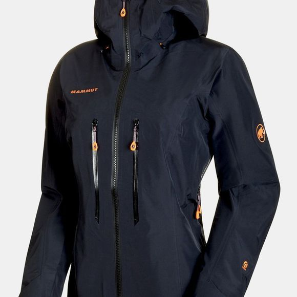 Mammut Womens Nordwand Advanced HS Hooded Jacket Black