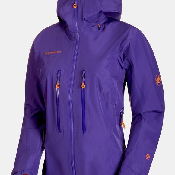 Mammut Womens Nordwand Advanced HS Hooded Jacket Dawn
