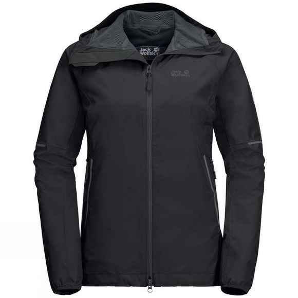 Jack Wolfskin Womens Sierra Pass Jacket Black