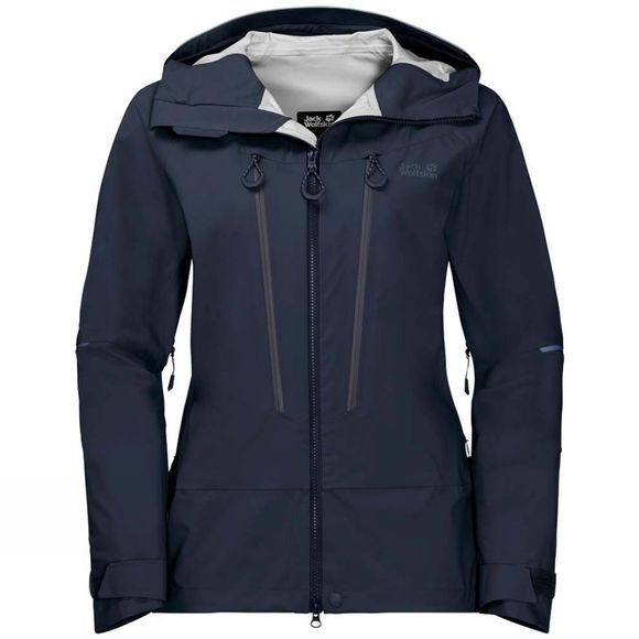 Jack Wolfskin Womens Exolight Mountain Jacket Midnight Blue