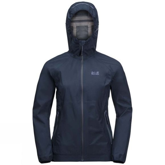 Jack Wolfskin Womens Misty Peak Jacket Midnight Blue