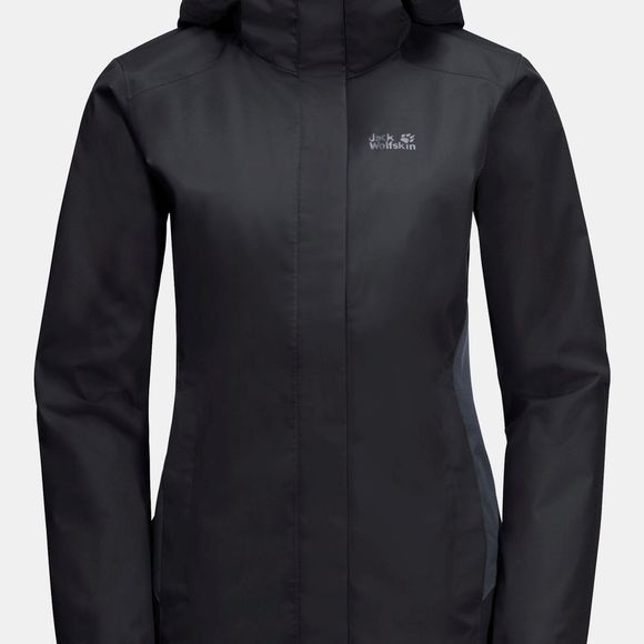 Jack Wolfskin Womens Marble Rock Jacket Black