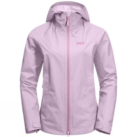 Jack Wolfskin Womens Scenic Trail Jacket Blossom